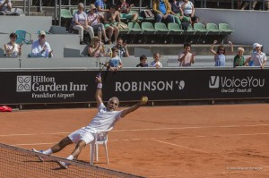 Tennis im Sitzen